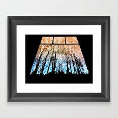 Veins of Stars Framed Art Print