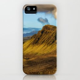 Green Mountain (Color) iPhone Case