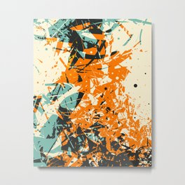 CRASH 5 Metal Print