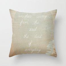 Picasso says Throw Pillow