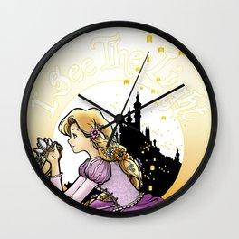 Art Nouveau Rapunzel Wall Clock