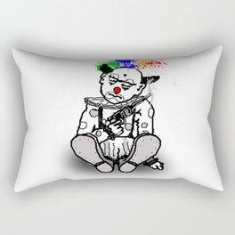 Sad Clown Rectangular Pillow