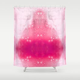 Bubbly Pink Shower Curtain