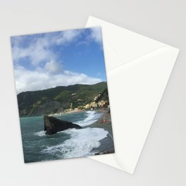 Monterosso Beach, Cinque Terre, Italy Panorama Stationery Cards
