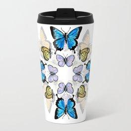 Kaleidoscope of Butterflies Travel Mug