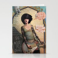 rock Stationery Cards featuring Rock the Casbah by Rudy Faber