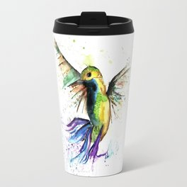 Humming Bird - Ribbons Travel Mug