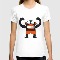 muscle T-shirts featuring Muscle Monkey by Zubinski Products