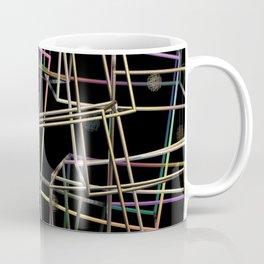 Fractalised Metal Frames Coffee Mug