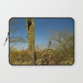 Saguaro and Mother in Law Pillow Laptop Sleeve