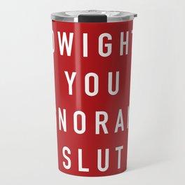 Ignorant Slut (Poppy) Travel Mug