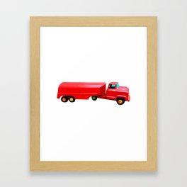 The Love Tanker Framed Art Print