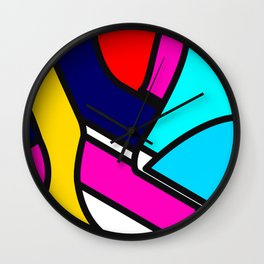 Abstract Art #5 Wall Clock