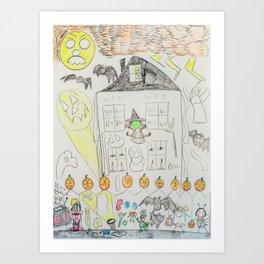 Kelly Bruneau #8 Art Print