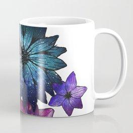 Space Flowers Coffee Mug