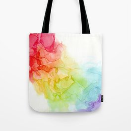 Study in Rainbow Tote Bag