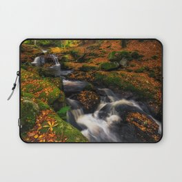Cloghleagh River in Wicklow Mountains - Ireland (RR249) Laptop Sleeve