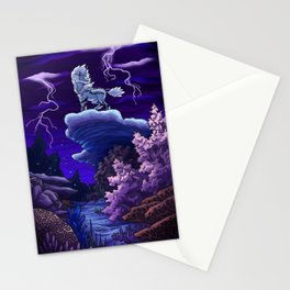 Coral Kirin Stationery Cards