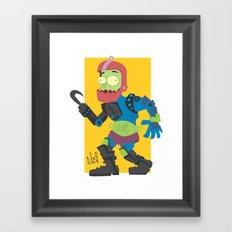 Jaw!! Framed Art Print