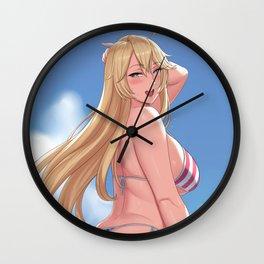 Iowa - Kancolle Wall Clock