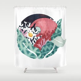 Oh Holy Guava Shower Curtain