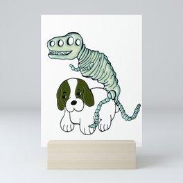 Poor Puppy Mini Art Print