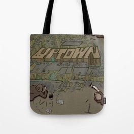 Drawing Uptown Tote Bag