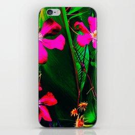 Florida Garden in Bloom iPhone Skin