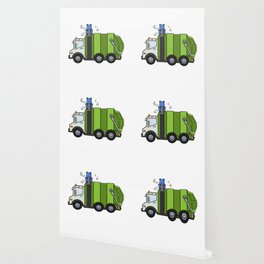 Recycle Truck Wallpaper