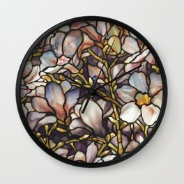 Louis Comfort Tiffany - Decorative stained glass 10. Wall Clock
