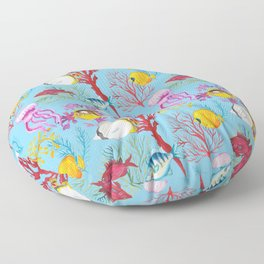 Coral Reef - All Together Water Floor Pillow