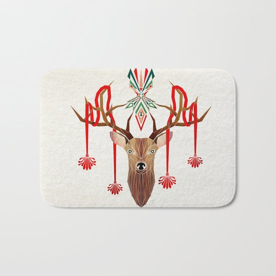 deer rope  Bath Mat