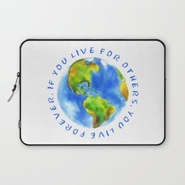 Live For Solidarity Laptop Sleeve