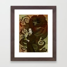Dr. Jekyll and Mr. Hyde Framed Art Print