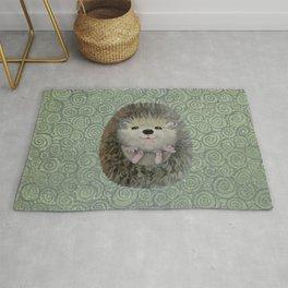 Cute Baby Hedgehog Rug