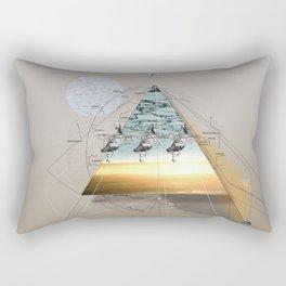 atmosphere 34 · Eiszeit Rectangular Pillow