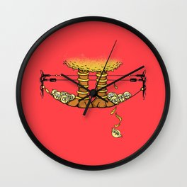 Big Jerk Wall Clock