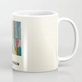 new mexico map modern Coffee Mug