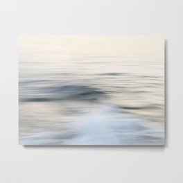 Silent waves Metal Print
