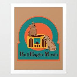 BullEagle Art Print