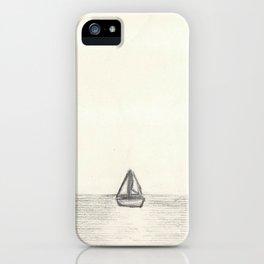 Away at Sea iPhone Case