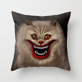Hausu Cat Throw Pillow