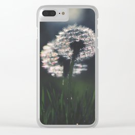 whispers in the wind Clear iPhone Case
