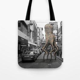 Unseen Monsters of Melbourne - Wabi Goons Milky Tote Bag