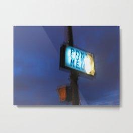 Pont Neuf in Paris (2008d) Metal Print
