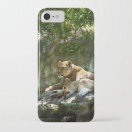 Portland Lioness iPhone Case