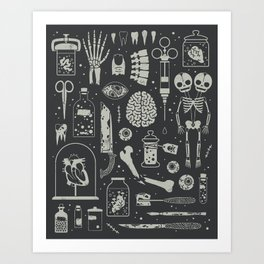 Oddities: X-ray Kunstdrucke