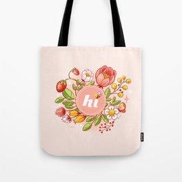 Hi There! Tote Bag