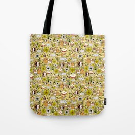 Guinea Pig Pattern Tote Bag