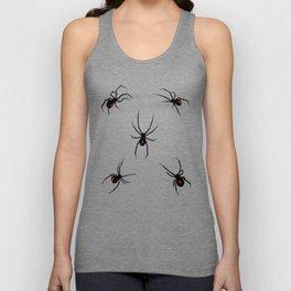 Black Widow Spiders Unisex Tank Top